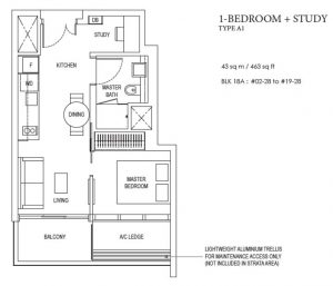 amber-park-1-bedroom-floorplan-type-1a