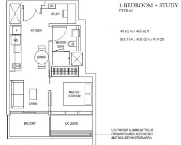 amber-park-1-bedroom-floorplan-type-1a